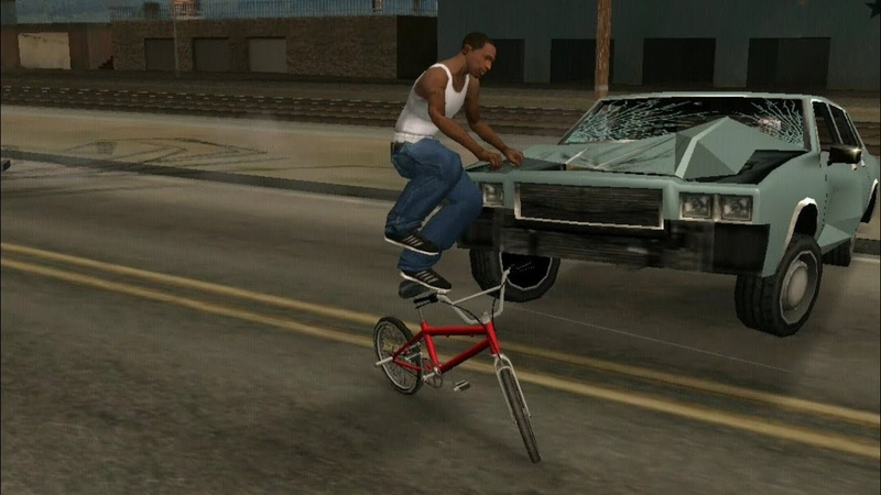 Making GTA San Andreas first mission as hard as possible.