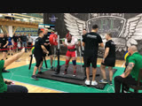 Никулин Алексей присед 332,5 кг