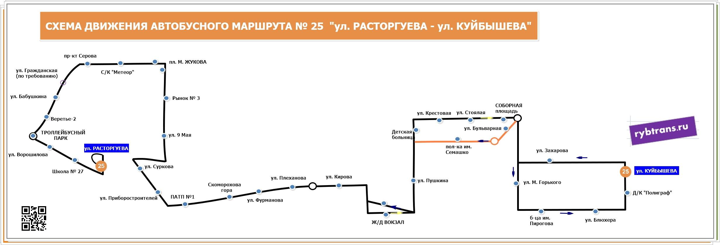 Новый маршрут №25