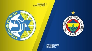 Maccabi FOX Tel Aviv - Fenerbahce Istanbul Highlights | Turkish Airlines EuroLeague RS Round 9