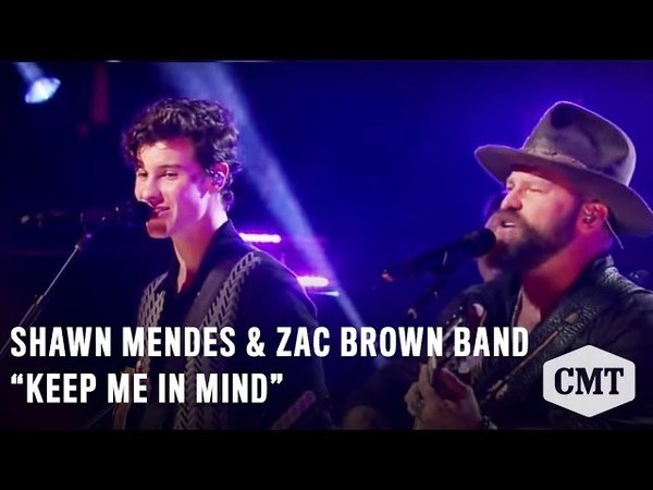 CMT Crossroads: Shawn Mendes Zac Brown Band | Keep Me in Mind