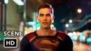 DCTV Elseworlds Crossover Clip Amazo Fight HD Superman Flash Arrow Supergirl