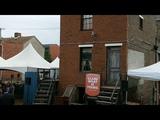 Denzel Washington At August Wilson House Pittsburgh