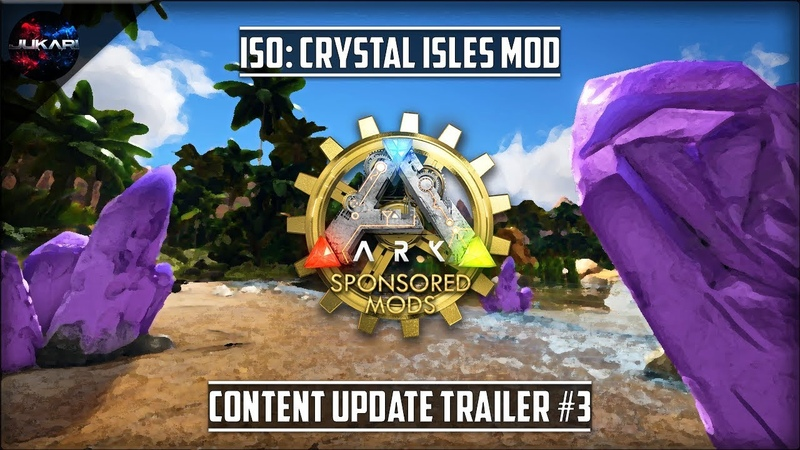ARK:Survival Evolved | ISO: Crystal Isles Mod | Content Update Trailer 3