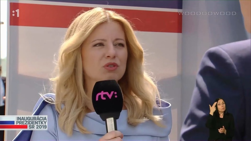 Inaugurácia prezidentky SR - rozhovor | 15.6.2019