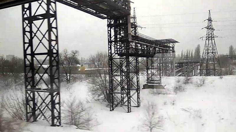 Боровская Едем в Сочи 11 Россия из окна поезда