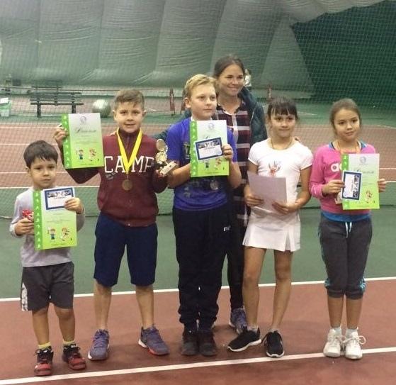 Фестиваль тенниса юных чемпионов. 28 октября 2017