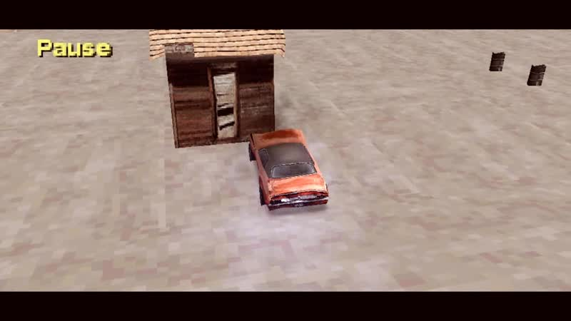 Driver 2 - Vanishing Point chase (DSF OST)