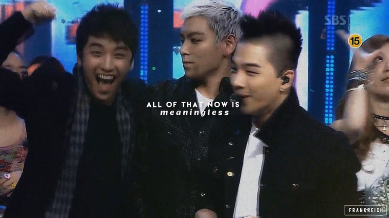 BIGBANG Tribute 12 Years I don't want to be alone