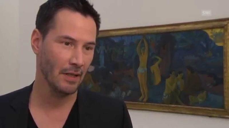 Киану Ривз открывает выставку Гогена в Швейцарии