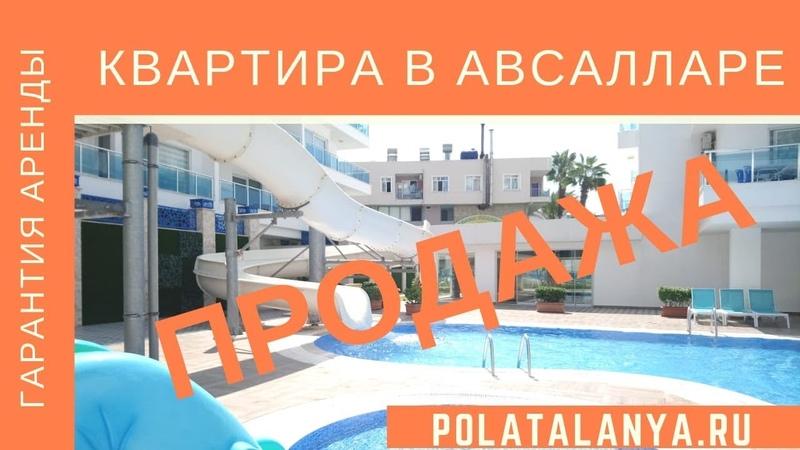 Недвижимость в Авсалларе у моря  Polat Alanya- недвижимость в Турции из первых рук