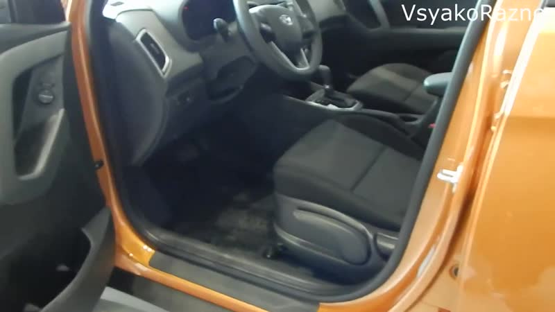 Hyundai CRETA 1.6 123 л.с 6AT Comfort кроссовер или топовый седан SOLARIS интерьер,экстерьер обзор