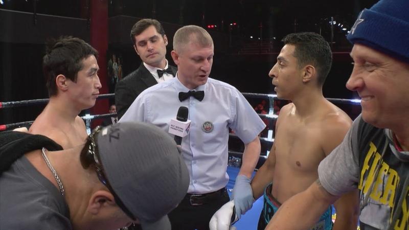 Эльнур Абдураимов (Узбекистан) vs. Аэлье Мескуита (Бразилия) | 10.11.2018 | RCC Boxing Promotions