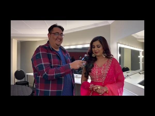 Shreya Ghoshal South Africa and Bollywood Frenzy in conversation with Shreya Ghoshal