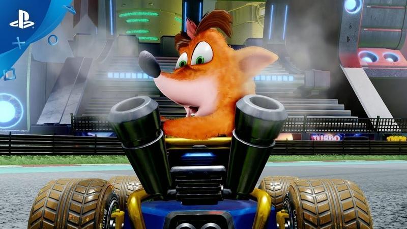 Crash Team Racing Nitro-Fueled - Reveal Trailer | PS4