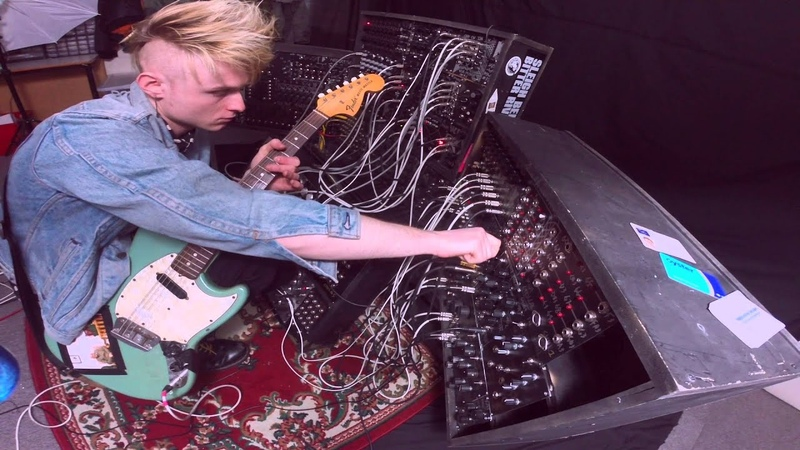 Guitar into modular synth Interfacing