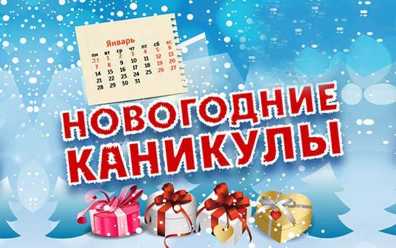 Новогодние каникулы Dollyeye.ru