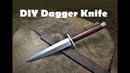 How to make a Dagger Knife out of an Old File