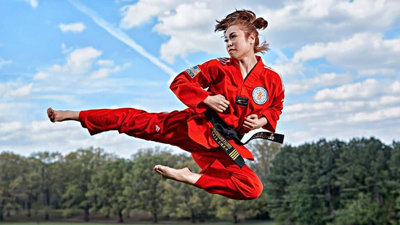 When Beautiful Girls Practice Martialarts 2019 !!
