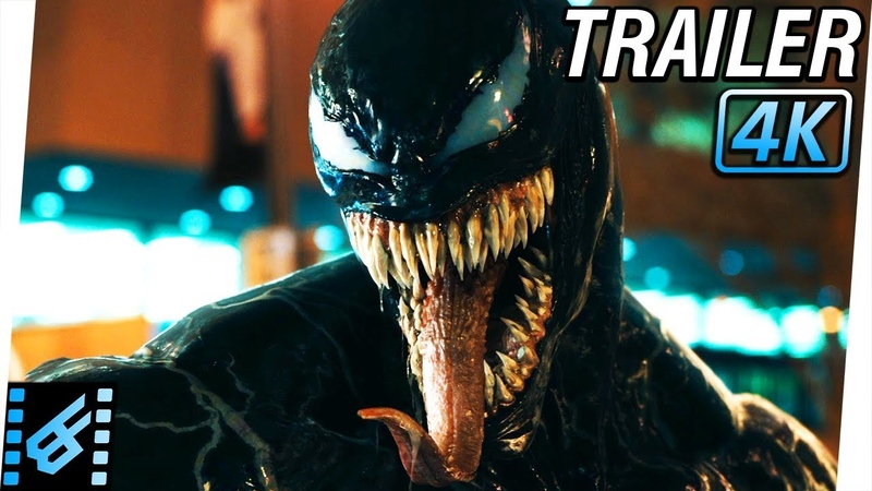 VENOM Trailer 2 2018 4K Ultra HD Tom Hardy Michelle Williams Riz Ahmed