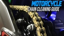 How To Clean a Motorcycle Chain | Sportbiketrackgear