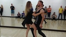 Maxim and Anastasia - Brazilian zouk demo at Ipanema dance studio