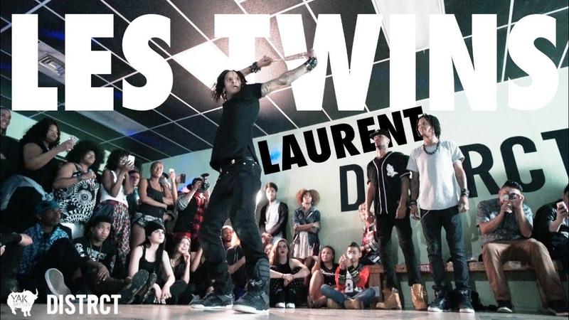 Laurent Lil Beast Bourgeois at Distrct LV | YAK FILMS x LES TWINS