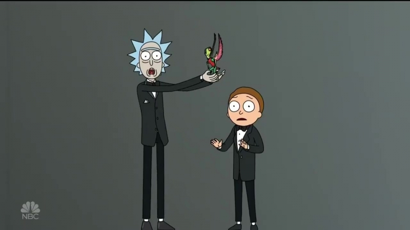 Rick and Morty Emmys 2018 appearance