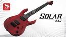 7-ми струнная электрогитара Solar A2.7 (гитара от Ola Englund )