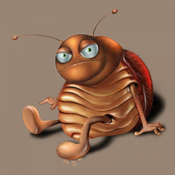 Смешной таракан картинка, для
