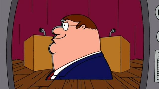 Family Guy Гриффины 2 Сезон 10 Серия Баллотирующиеся супруги Ren TV