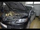 Сложный ремонт Mazda CX-7 2.3 TFSI Turbo ошибка Р0203-00