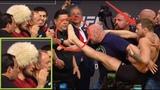 КОНОР НАКИНУЛСЯ НА ХАБИБА НА ВЗВЕШИВАНИИ UFC 229   РУССКАЯ ОЗВУЧКА ИНТЕРВЬЮ БОЙЦОВ