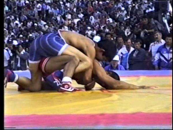 Chuchunov,Leonid (RUS) - Molonov,M.(RUS) 54 kg, 1997 Chempionat Rossii