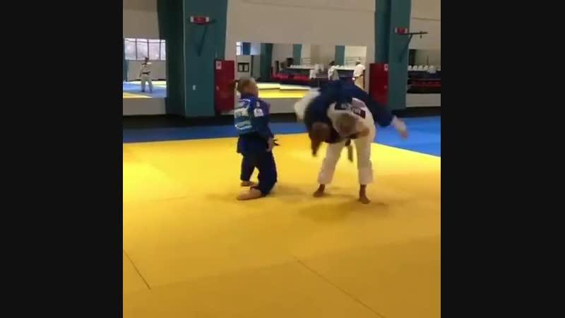 Takedowns in judo