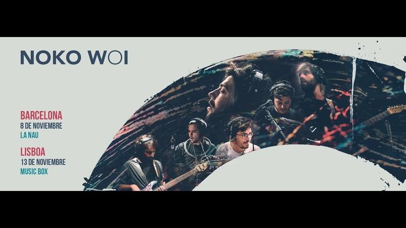Noko Woi en el Musicbox Lisboa (13 de noviembre de 2018-concierto completo)