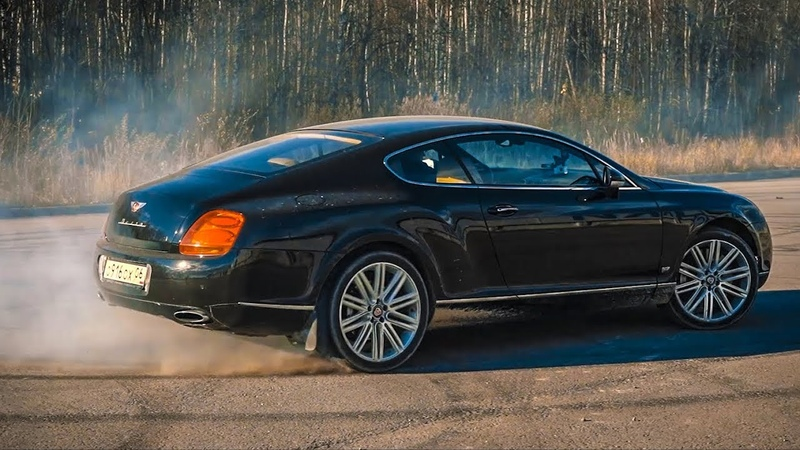 Bentley с Японским двигателем рассыпается на ходу.