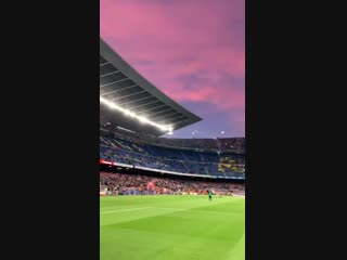 📍 camp nou this. is. heaven. 💙❤️