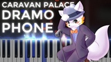 Caravan Palace Dramophone Ragtime LyricWulf Piano Tutorial on Synthesia
