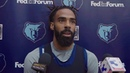 Mike Conley on upcoming Pelicans, Lakers games; teammates JaMychal Green Omri Casspi - 12/6/18