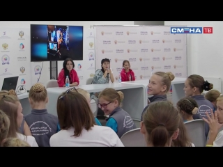 Участницы проекта «Танцы на ТНТ» поделились секретами успеха с участниками «Культурной смены России» в ВДЦ «Смена»