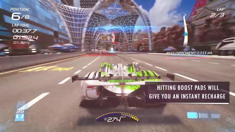 Xenon Racer - Drifting Boosting