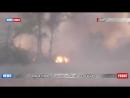 Одна нога здесь, другая там - 18 Взрыв укро миномета засняли на видео..