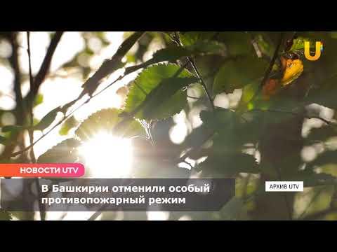 Новости UTV. Особый противопожарный режим
