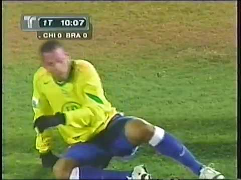 Chile vs Brasil 2004 - Eliminatorias Alemania 2006 - Partido completo.