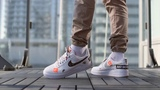 Кроссовки Nike Air Force 1 '07 Premium 'Just Do It' On Feet