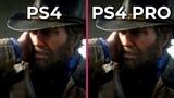 Red Dead Redemption 2 PS4 vs. PS4 Pro Frame Rate Test &amp Graphics Comparison