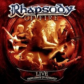 Rhapsody of fire альбом Live - From Chaos to Eternity