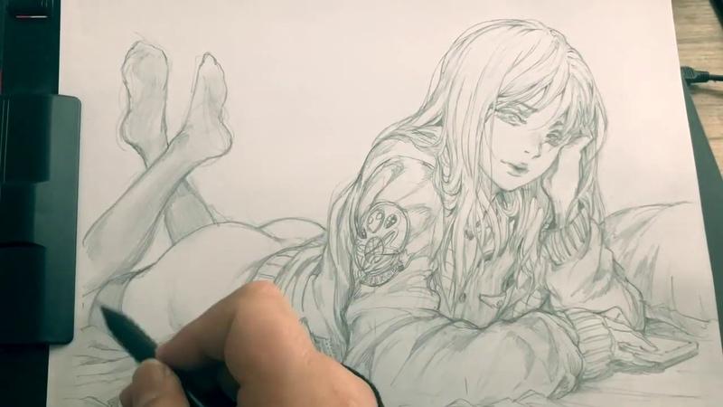 [STATO스타토] T.T.T 캐릭터 스케치 (드로잉 작업과정 영상)_sketch,pencil,drawing