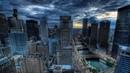 Картинка город. Дома, небоскребы, Америка, hdr, города.